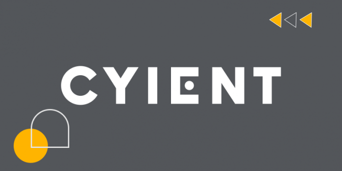 Cyient logo black and white